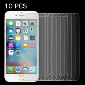 10 PCS 0.26mm 9H Surface Hardness 2.5D Explosion-proof Tempered Glass Screen Film for iPhone 6 & 6s