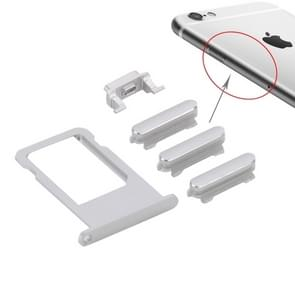 Kaart lade vervanging voor iPhone 6s Plus(Silver)