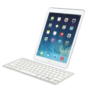 BK3001 Ultra-thin Bluetooth 3.0 ABS Keyboard for iPad Air 2 / iPAD Air / iPad 6 / iPad 5 / iPad mini 1 / 2 / 3 / New iPad (iPad 3) / iPad ,iPhone 4 & 4S / 3G,Sony PS3,Smart phones(White)