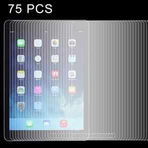 75 PCS LOPURS 0.4mm 9H+ Surface Hardness 2.5D Explosion-proof Tempered Glass Film for New iPad (iPad 3) / iPad 4 / iPad 2