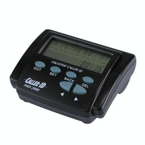 HWD-2008E 2.7 inch LCD Adjustable Screen FSK / DTMF Caller ID with Calendar Function(Black)