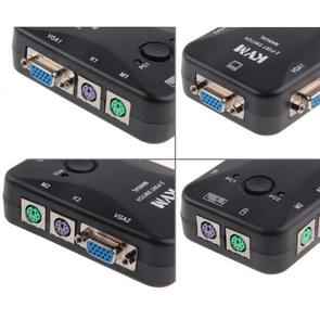 2 Port KVM Switch, PS/2 KVM Switch 2 Port, Controlling 2 Pcs from one PS/2 console