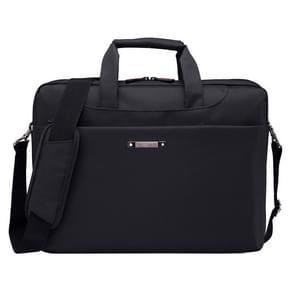 15.6 inch Portable One Shoulder Waterproof Nylon Laptop Bag  Black (301#)(Black)