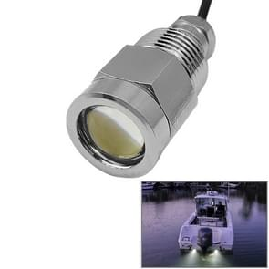 Bronze 9W blauw licht LED 70LM Underwater Drain Plug licht Lamps met Waterdicht Joint voor Boat Yacht, DC 8-28V (Built-in IC)