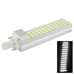 G24 12W 1000LM LED gloeilamp dwarse  52 LED SMD 5050  witte licht  AC 220V