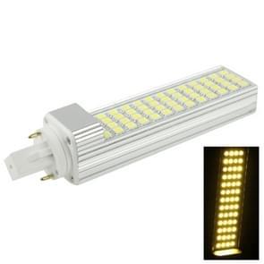 G24 12W 1000LM LED gloeilamp dwarse  52 LED SMD 5050  Warm wit licht  AC 220V