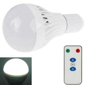 5W-7W Rechargeable LED Emergency Bulb Light, E26 / E27 / B22 LED Magic Bulb with Remote Controller (Default Delivery E27 Bulb Base, Need E26 or B22, Must Make a Note on the Order)