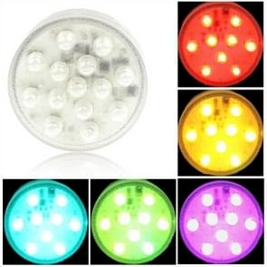 14 LED Multi Color Light with Remote Control(Silver)