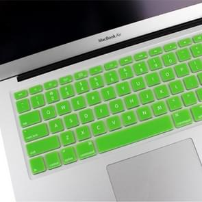 ENKAY Soft Silicone Keyboard Protector Cover Skin for MacBook Air 13.3 inch & Macbook Pro with Retina Display 13.3 inch & 15.4 inch (US Version) / A1398 / A1425 / A1369 / A1466 / A1502(Green)
