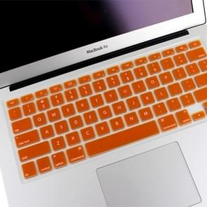 ENKAY Soft Silicone Keyboard Protector Cover Skin for MacBook Air 13.3 inch & Macbook Pro with Retina Display 13.3 inch & 15.4 inch (US Version) / A1398 / A1425 / A1369 / A1466 / A1502(Orange)