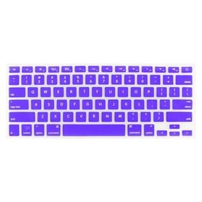 ENKAY for MacBook Pro 13.3 inch / 15.4 inch / 17.3 inch (US Version) / A1278 / A1286 Soft Silicone Keyboard Protector Cover Skin(Purple)