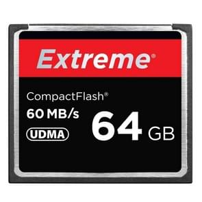 64GB Extreme Compact Flash Card, 400X Read  Speed, up to 60 MB/S (100% Real Capacity)