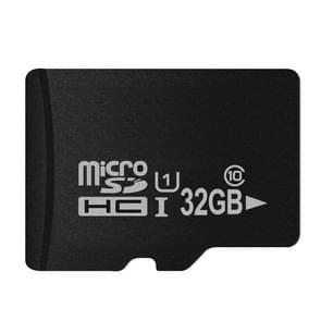 32GB High Speed Class 10 Micro SD(TF) Memory Card from Taiwan (100% Real Capacity)(Black)
