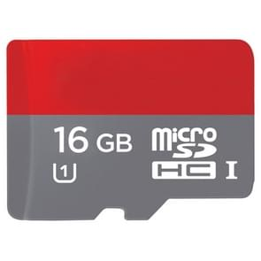 16GB High Speed Class 10 TF/Micro SDHC UHS-1(U1) Memory Card, Write: 12mb/s, Read: 20mb/s  (100% Real Capacity)(Black)