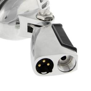 Professional bekabeld klassieke dynamische microfoon  lengte: 18cm (zilver)