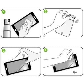 ENKAY HD Crystal Clear PET scherm beschermende Film Guard voor iPad mini 2 Retina