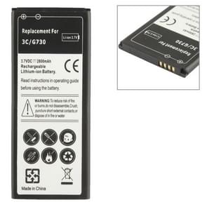 Batterij van de vervanging van de 2800mAh voor Huawei Ascend G730