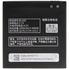 BL209 Oplaadbare Li-Polymer batterij voor Lenovo A706 / A820e / A760