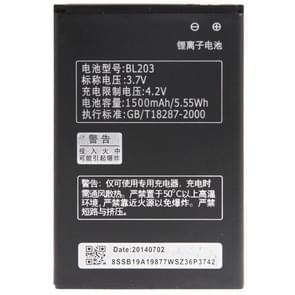 BL203 Rechargeable Lithium-ion Battery for Lenovo A278t / A66 / A365e / A278