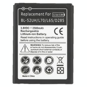 Mobiele telefoonbatterij van de vervanging van de 2500mAh voor LG L70 / L65 / D285