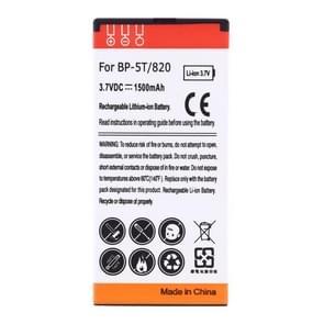 1500mAh de batterij van de hoge capaciteit Business van de BP-5T voor Nokia Lumia 820 / 825