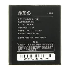 CPLD-21 1700mAh oplaadbare Li-Polymer batterij voor Coolpad 5876 / 5890 / 8185 / 7260S / 7269