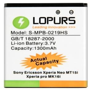 LOPURS High Capacity Business Battery for Sony MT15i Xperia Neo (Actual Capacity: 1300mAh)