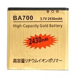 2430mAh hoge capaciteit gouden Business batterij voor Sony Ericsson MT15i Xperia Neo / MK16i