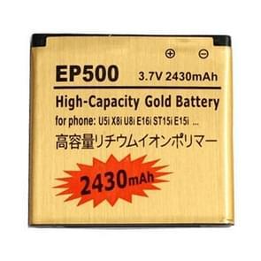 2430mAh hoge capaciteit gouden Business batterij voor Sony Ericsson U5i / U8i