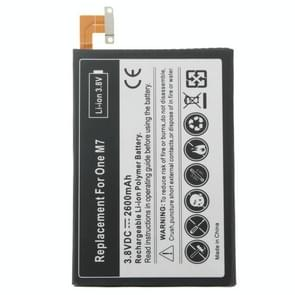 3.8V / 2600mAh Rechargeable Li-Polymer Battery for HTC One / M7