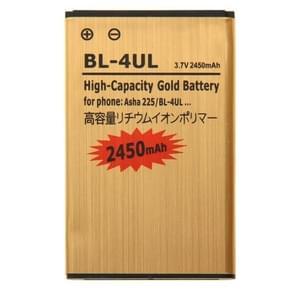 2450mAh hoge capaciteit gouden Li-ion mobiele telefoonbatterij voor Nokia Asha 225