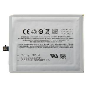 Originele 3000mAh oplaadbare Li-Polymer-batterij voor Meizu MX4