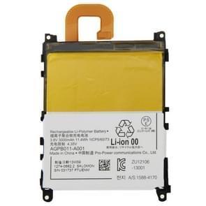 3.8V 3000mAh oplaadbare Li-Polymer batterij voor Sony Xperia Z1 / L39h