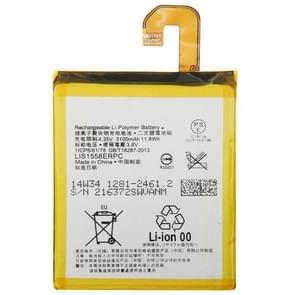 3.8V 3100mAh oplaadbare Li-Polymer batterij voor Sony Xperia Z3 / D6653