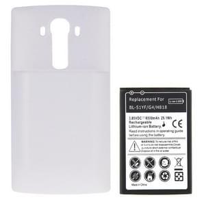 BL-51YH 3.85V / 6500mAh RD Li-ion batterij met hoge capaciteit en back-door cover vervanging voor LG G4 / H818