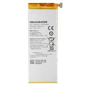 HB4242B4EBW 3000mAh oplaadbare Li-Polymer batterij voor Huawei Honor 6
