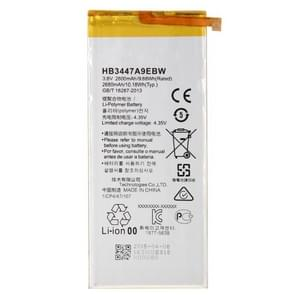 HB3447A9EBW 2600mAh oplaadbare Li-Polymer batterij voor Huawei P8