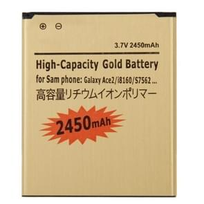 2450mAh High Capacity Gold Business Battery for Galaxy Ace 2 / i8160