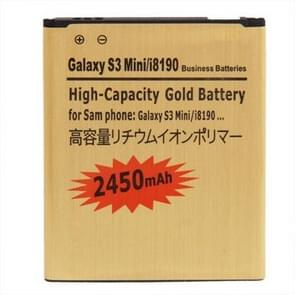 2450mAh High Capacity Gold Business Battery for Galaxy SIII mini / i8190