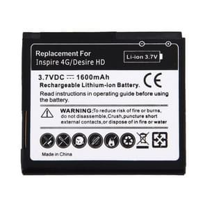 Mobile Phone Battery for HTC Desire HD(Black)