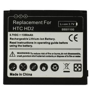 De batterij van de mobiele telefoon voor HTC Touch HD2 / T8585 / T8588(Black)