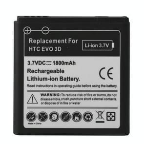 Mobiele telefoon batterij 1800mAh voor HTC EVO 3D / Sensation XL / G14 / X515m / G17 Sensation XE Z715e / G18