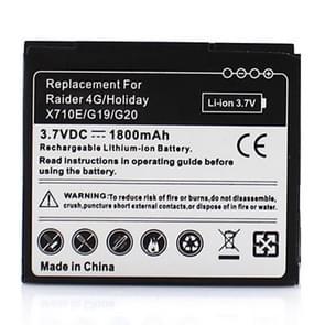 De batterij van de mobiele telefoon voor HTC Raider 4G  X710E  G19 Vakantiewoningen / G20