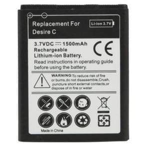 1500mAh de batterij van de vervanging voor de HTC Desire C / A320e