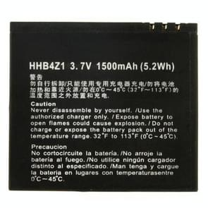 1500mAh HHB4Z1 Replacement Mobile Phone Battery for Huawei U9000 / Sharp EA-BL30 / MOTO FB0-2