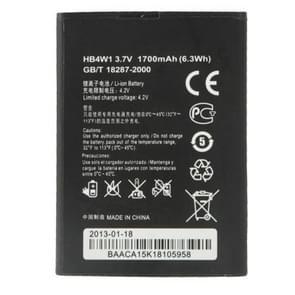 Batterij van de vervanging van de HB4W1 van de 1700mAh voor Huawei C8813 /C8813D /Y210 /Y210C /G510 /G520 /T8951