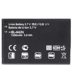1500mAh BL-44JN High Capacity Replacement Battery for LG L3 / P970 / VS700 / E739 / E400 / AS680