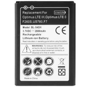Batterij van de vervanging van de Business van de 2800mAh voor LG Optimus LTE III / F260S / US780 / F7