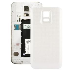 Vervangende achterkant / batterij cover voor Samsung Galaxy S5 / G900 mobiele telefoon wit