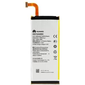 2000mAh Replacement Battery for Huawei Ascend P6(Black)